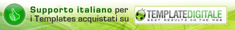 Supporto Italiano - TemplateDigitale.com